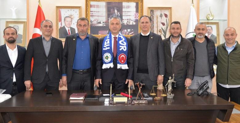 Hendekspor'dan Başkan Babaoğlu'na ziyaret