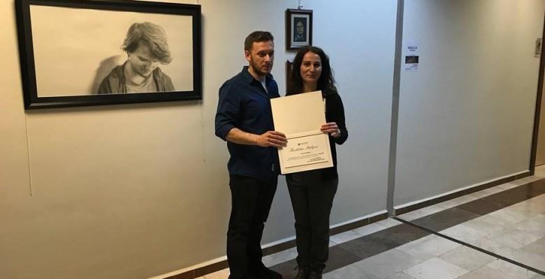 SAÜ'de 'Kimsessizlik' başlıklı sergi açıldı