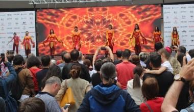 Bu festival, dansla ilgilenen gençleri bir araya getirdi