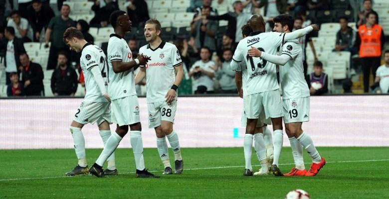 Beşiktaş ligi 3. sırada tamamladı