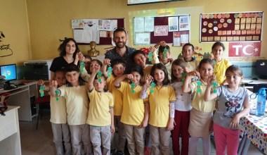 Gebze'de öğrencilere çevre bilinci aşılanıyor