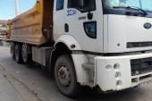 Hafriyat kamyonunun çarptığı adam hayatını kaybetti