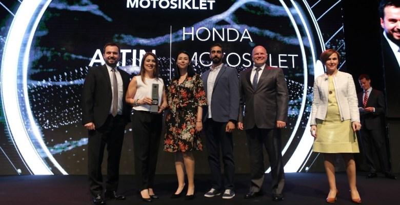 Honda Türkiye'ye çifte ödül