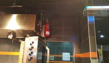İftar vakti restoranda yangın tüpü patladı: 1 kişi ağır yaralı