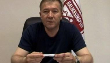 Rafet Çetinel'den Balıkesirspor ile ilgili açıklama