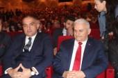 Samsun'a çıkışının 100. Yılı Binali Yıldırım ve Bakan Ersoy'un katılımıyla kutlandı