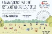 Akasya Sokak Lezzetleri Festivali 15 Haziran'da başlıyor