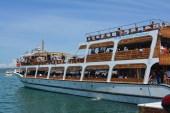 Ayvalık'ta gezi teknelerinde bayram yoğunluğu