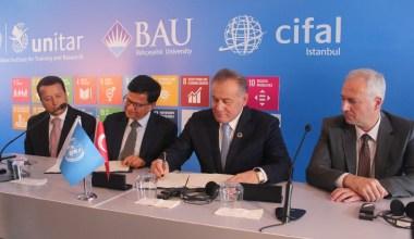 """BM Genel Sekreteri Yardımcısı; """"Türkiye'deki ve bölgedeki diplomatların eğitim kalitesinin iyileştirilmesine katkı sağlayacağız"""""""