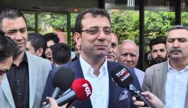 """Ekrem İmamoğlu: """"Demokrasi sürecine çok önemli katkı sunacağını düşündüğüm için çok mutluyum"""""""