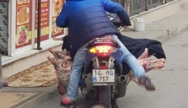 (Özel) Bursa'da akıl almaz et transferi