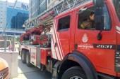 Vizyon Park'ta korkutan yangın