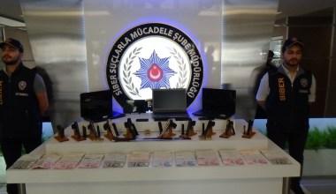 Yasa dışı bahis çetesine operasyon: 34 gözaltı