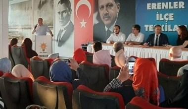 Başkan Kılıç, AK Parti Erenler İlçe Danışma meclisine katıldı