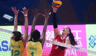 Filenin Sultanları, Milletler Ligi yarı finalinde Brezilya'ya yenildi