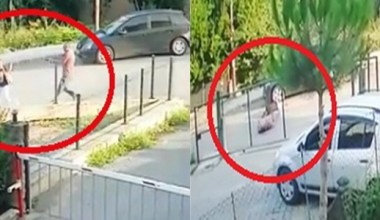 Kocaeli'deki eski eş cinayeti anları güvenlik kameralarına yansıdı