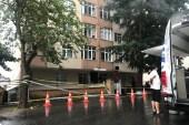 Sarıyer'de iki ana kolonu patlayan 6 katlı bina boşaltıldı