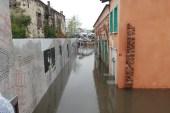 Tarihi Ahi Çelebi Camisi sular altında kaldı