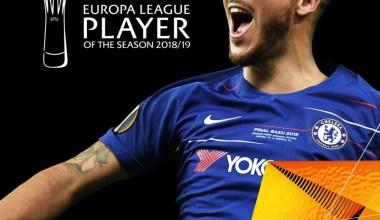 UEFA Avrupa Ligi'nde yılın futbolcusu: Eden Hazard