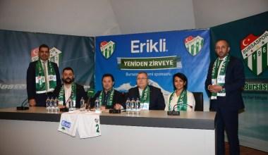 Bursaspor Erikli ile Yeniden Zirveye