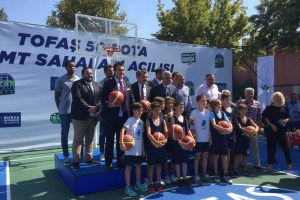 Bursa'ya 50 basketbol sahası