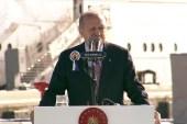 """Cumhurbaşkanı Erdoğan, """"Hedefimiz 2023'te savunma sanayii alanında dışa bağımlılığı tamamen ortadan kaldırmaktır"""" dedi."""