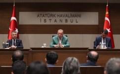 """Cumhurbaşkanı Erdoğan: """"Sınırda hazırlıklarımız tamam"""""""