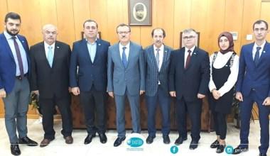 DATÜB heyeti Uludağ Üniversitesi Rektörü Kılavuz'a başarılar diledi