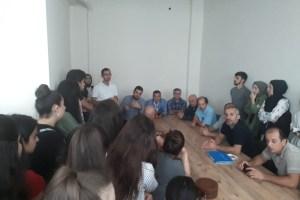 DATÜB, öğrenci adaylarıyla toplantı yaptı