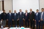 DATÜB Yönetim Kurulu Toplantısı Bişkek'te Yapıldı
