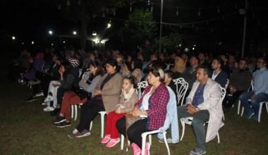 Eyüpsultan'da açık hava tiyatrosu vatandaşları bir araya getirdi