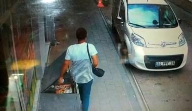 Fatih'te restorana giren hırsız para dolu çantayı böyle çaldı