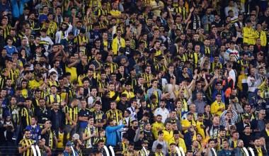 Kadıköy'de 37 bin 385 taraftar yer aldı