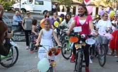 Kocaeli'de 'Süslü kadınlar' çevre için pedal çevirdi