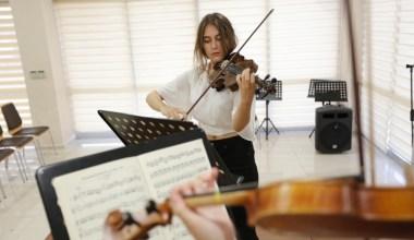 Küçükçekmece'de Müzik Akademisine büyük ilgi