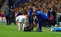 Rodrigues'in ayak bileğinde zorlanma tespit edildi