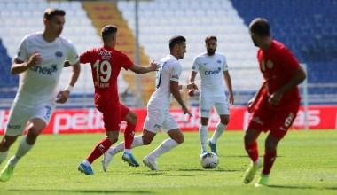 Süper Lig: Kasımpaşa: 0 – Antalyaspor: 0 (İlk yarı)