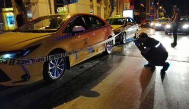 Taksiye silahlı saldırı: 1 yaralı
