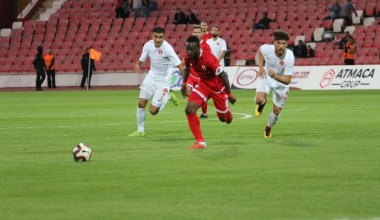 TFF 1. Lig: Balıkesirspor: 2 – Ümraniyespor: 0 (İlk yarı sonucu)