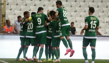 TFF 1. Lig: Bursaspor: 1 – Erzurumspor: 0 (İlk yarı sonucu)
