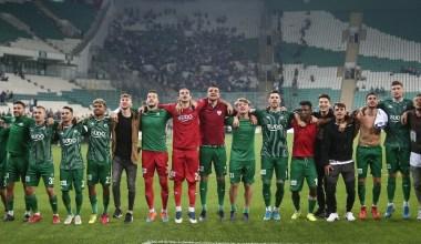 TFF 1. Lig: Bursaspor: 1 – Erzurumspor: 0