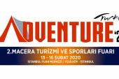 2. Macera Turizmi ve Sporları Fuarı 13 Şubat'ta başlıyor