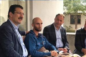 Yavuz, Barış Pınarı Harekatı'nda yaralanan Uzman Çavuş Kumaş'ı ziyaret etti