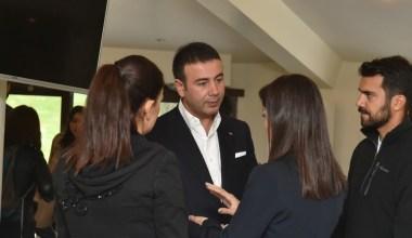 Başkan Akpolat basın mensuplarıyla buluştu