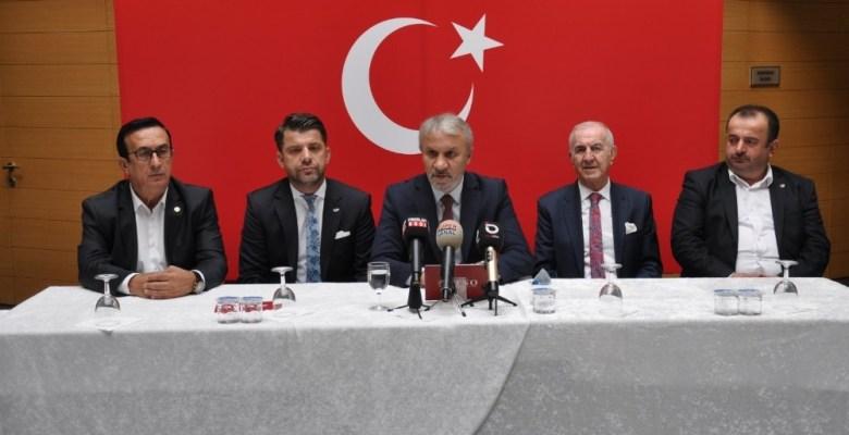 İnegöl'den Barış Pınarı Harekatı'na tam destek