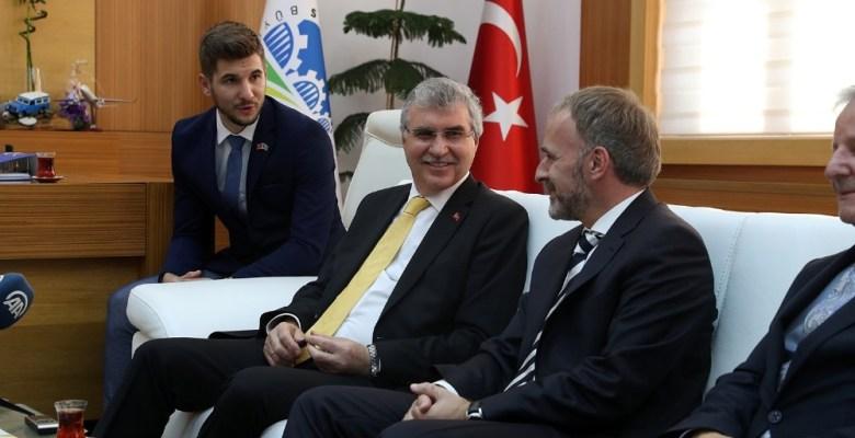 Başkan Yüce, Bosna Hersek Ankara Büyükelçisini konuk etti