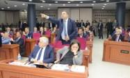 Büyükşehir Belediye Meclisinde gerginlik