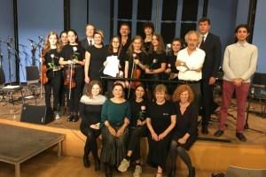 Kadıköy Çocuk Sanat Merkezi öğrencileri Almanya ve Polonya'da konser verdi