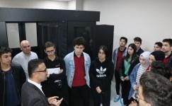 Meslek lisesi öğrencilerinden Kartal Belediyesine ziyaret
