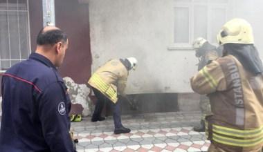 Sultangazi'de aynı mahallede bir saat arayla iki yangın
